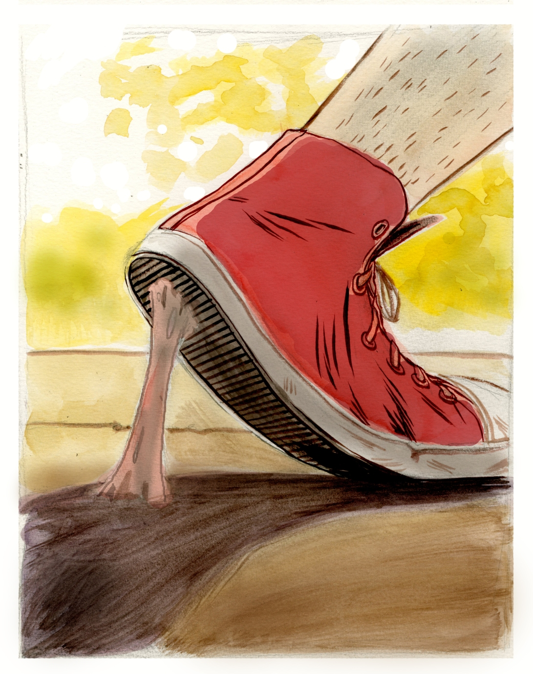 Illustration Friday: Stretch