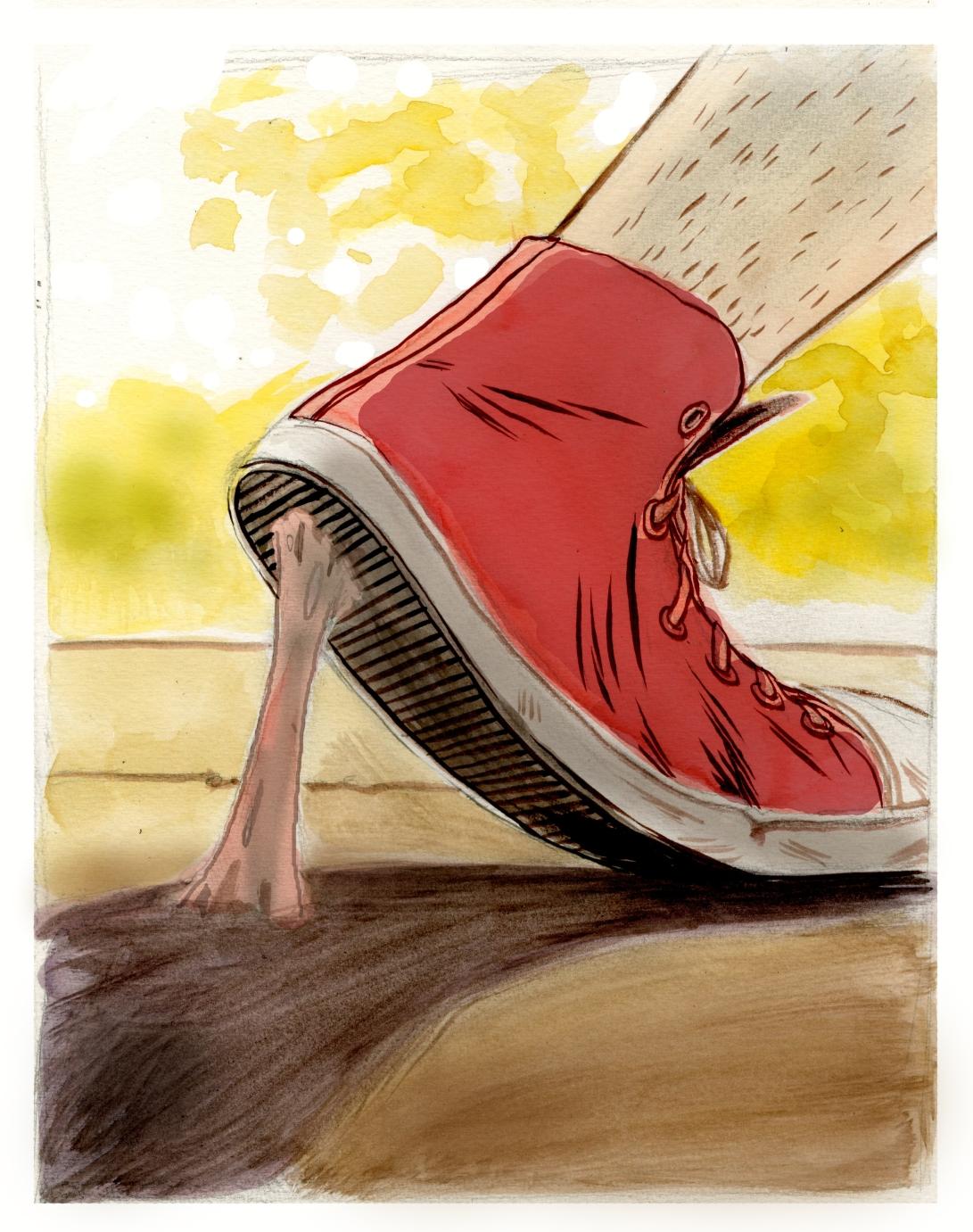 Illustration Friday: Stretch