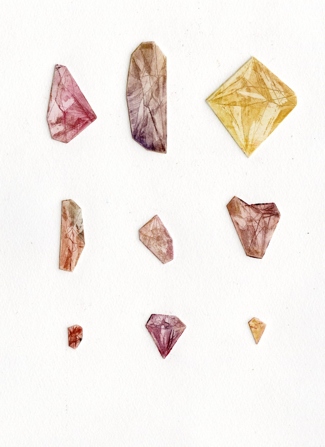 Copper Gems- All (Red)