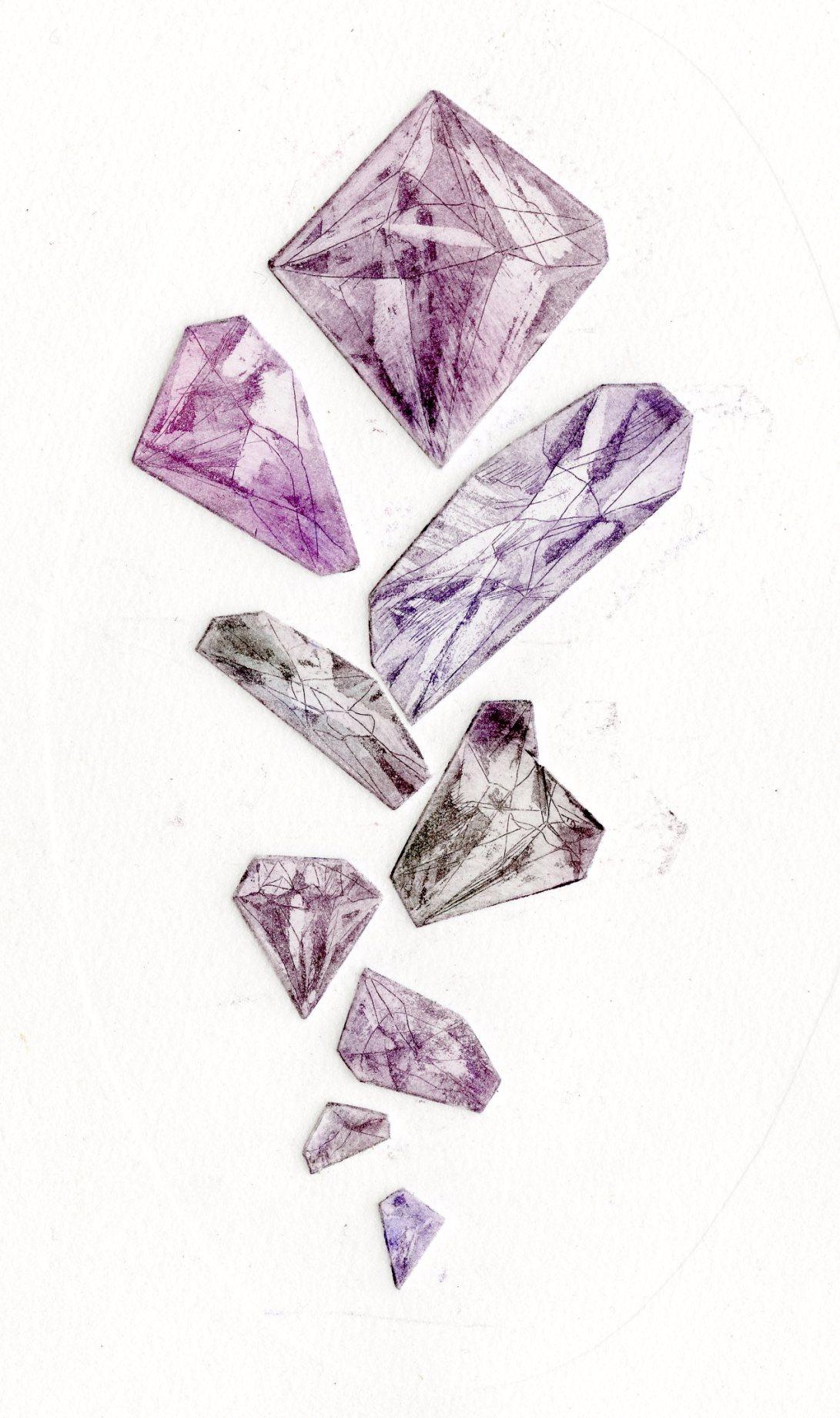 Copper Gems- Amethyst
